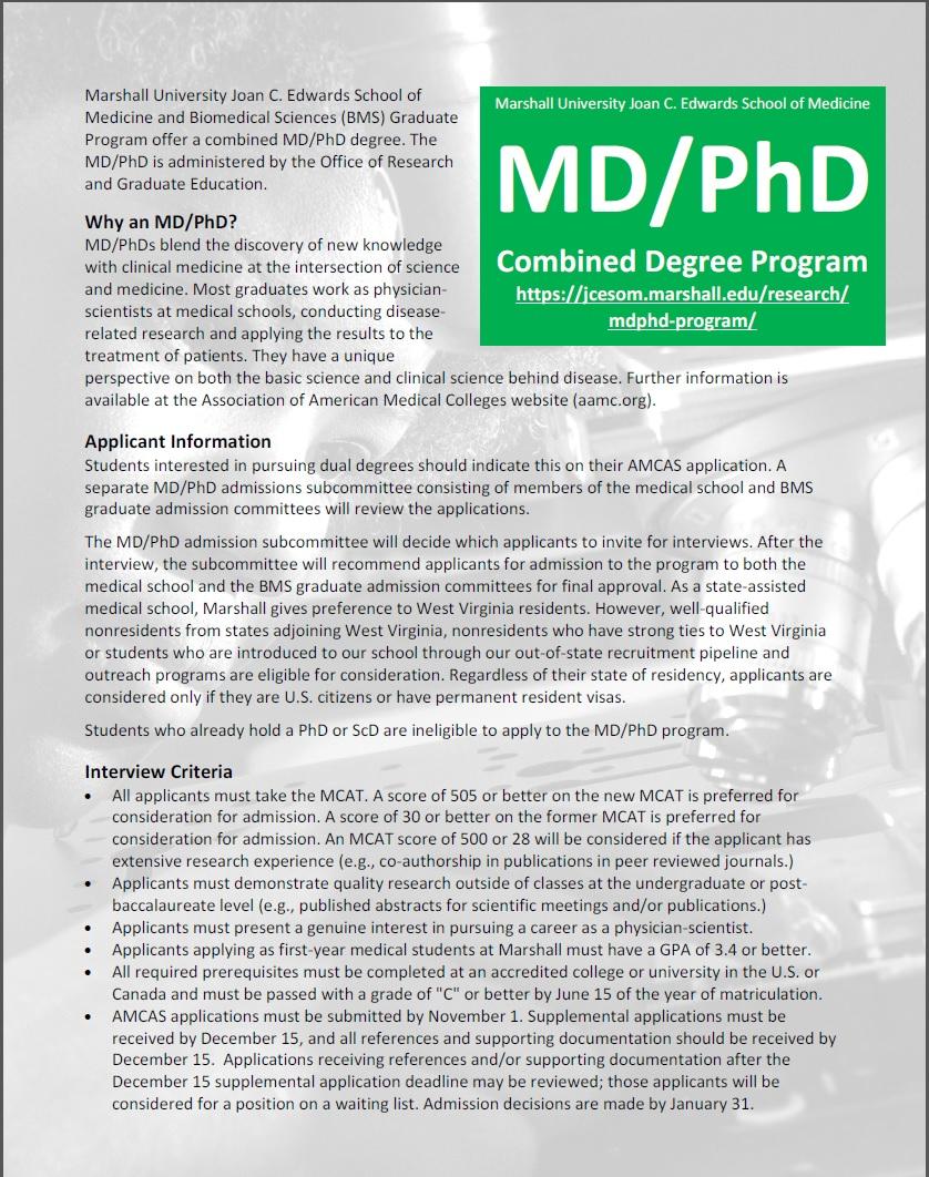 MDPhD Flyer